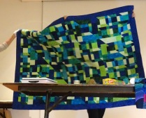 Donated to Community Quilts