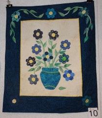 Maria Steventon: Mama's Blue Vase (1st place, General Class)