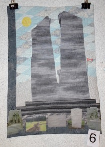 Nadine Wright: Vimy: Out of the Blue (2nd place, General Class)