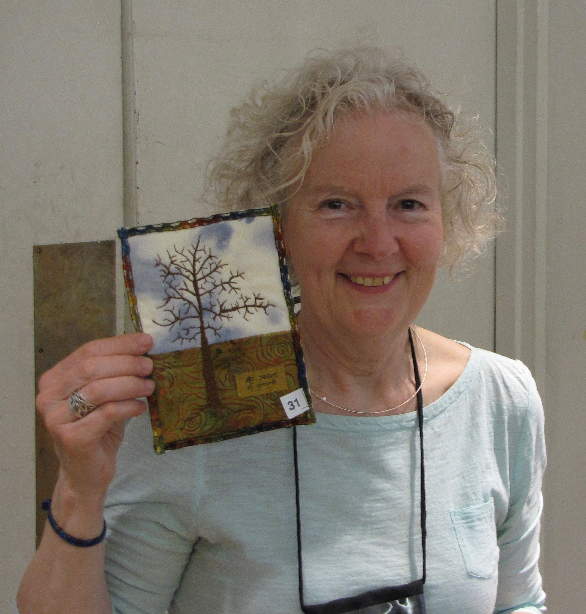 "Janet Patterson, winner in the 5"" x 7"" category"