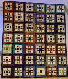 One of Kay Phillips' quilts